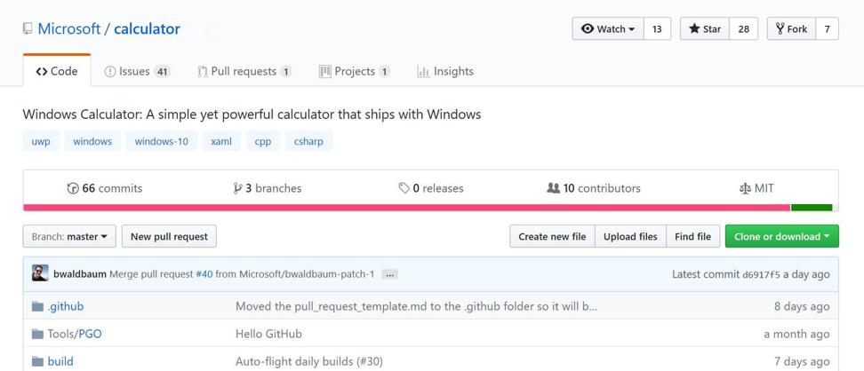 Microsoft открыла код Калькулятора Windows - 1