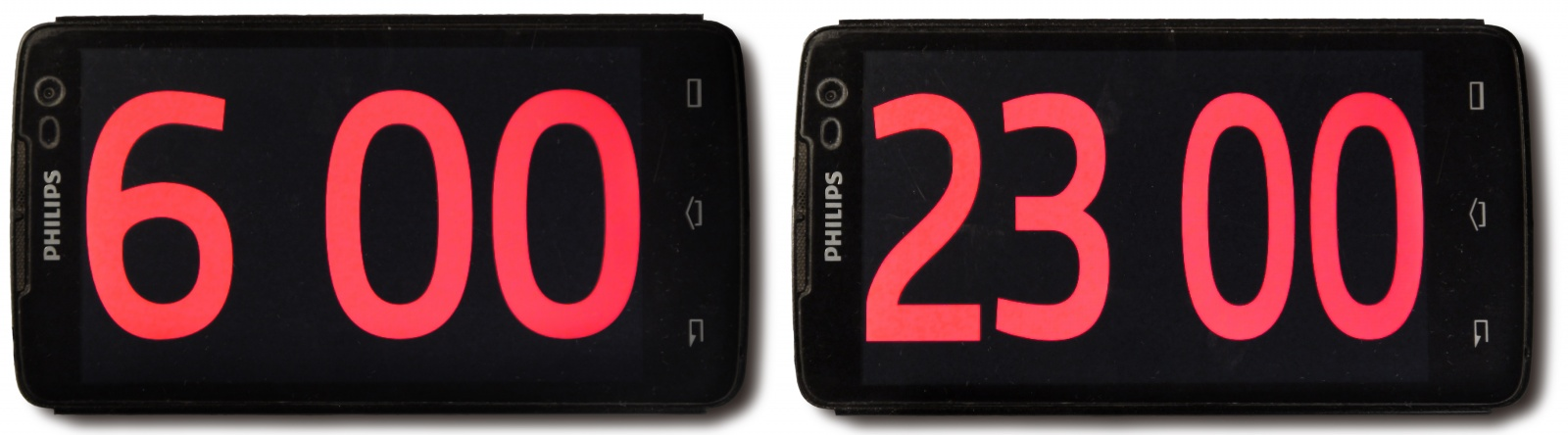 Красивые точные часы из старого смартфона - 16
