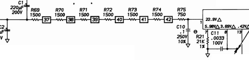 Переделка БП компьютера IBM 5150 модели А на 230 В - 5