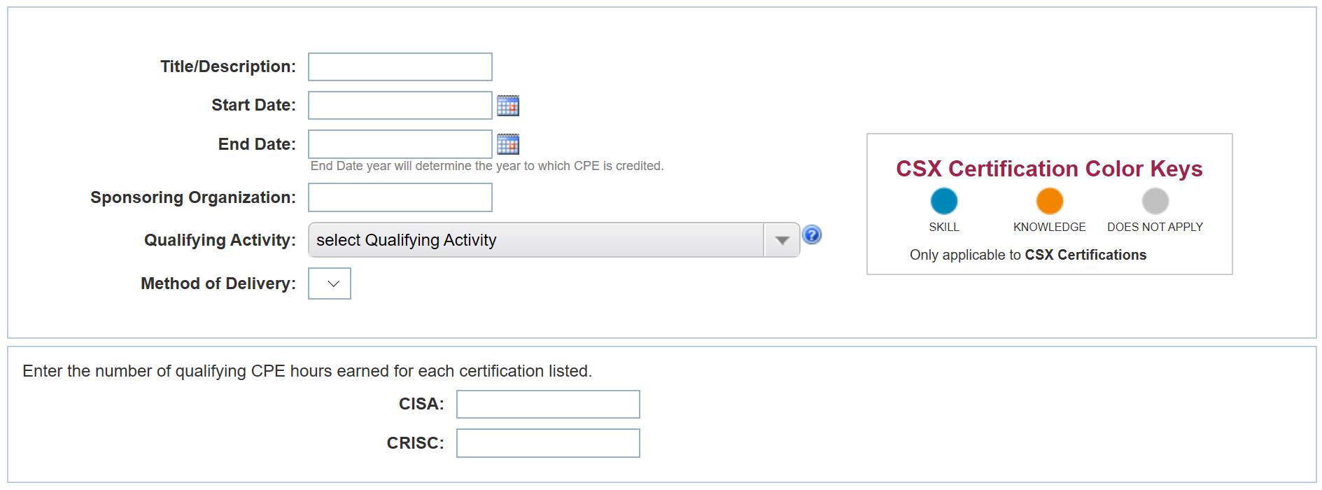 Получение CPE для поддержания профессиональных сертификаций (на примере ISACA) - 5