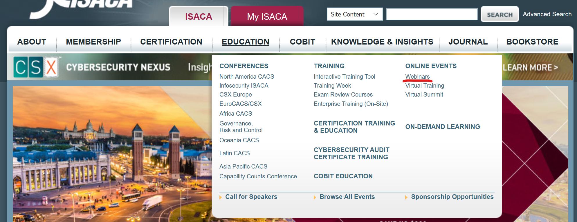 Получение CPE для поддержания профессиональных сертификаций (на примере ISACA) - 6