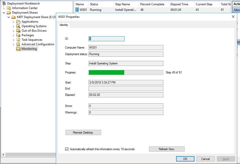 Установка Windows через Windows Deployment Services и