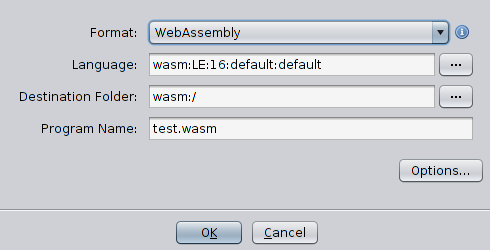 Writing a wasm loader for Ghidra. Part 1: Problem statement and setting up environment - 10