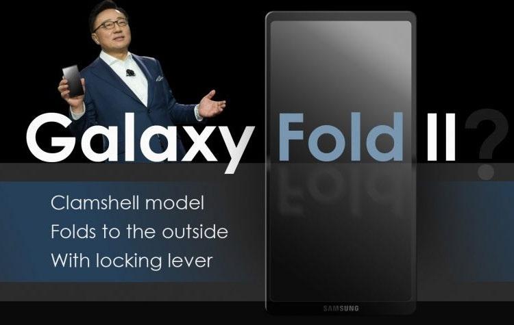 Патент Samsung: компактная «раскладушка» с гибким экраном наружу и сложной петлёй