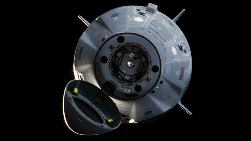Посадка Crew Dragon и видео выстрела по астероиду - 3