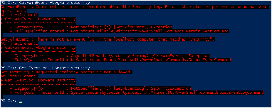 How to get Security Log with non-administrative user - 2