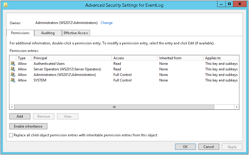 How to get Security Log with non-administrative user - 6