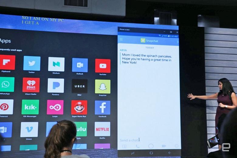 Microsoft запустит «отзеркаливание» смартфонов Android на Windows 10 уже на этой неделе