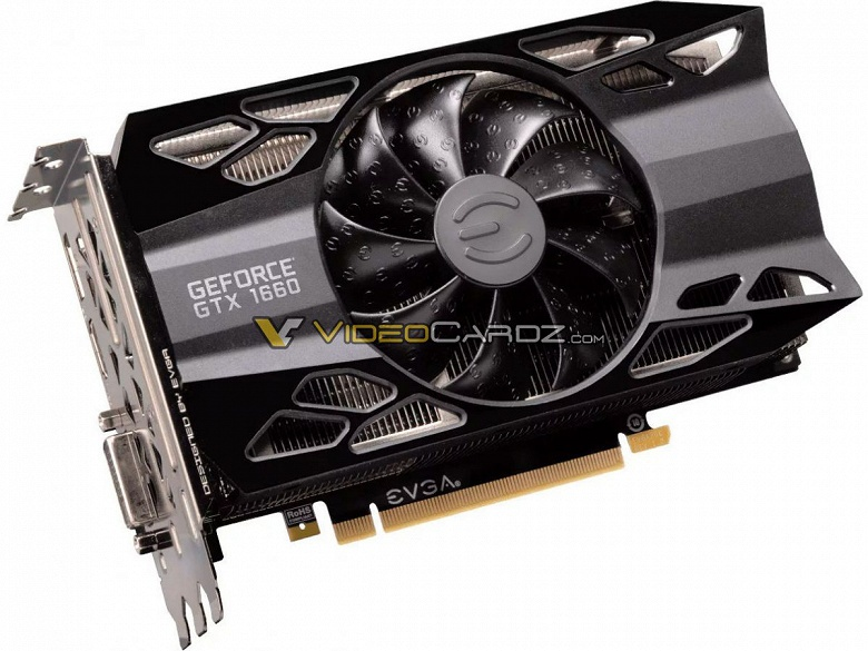 Фотогалерея дня: видеокарта GeForce GTX 1660 в исполнениях EVGA и Gigabyte