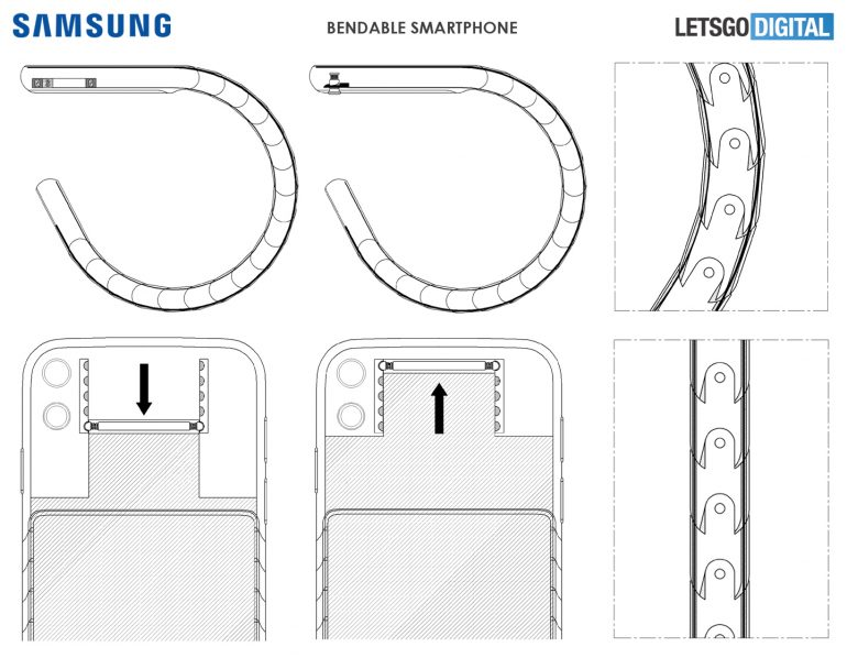 Гибкие смартфоны следующего поколения. Новый смартфон Samsung можно будет носить на запястье