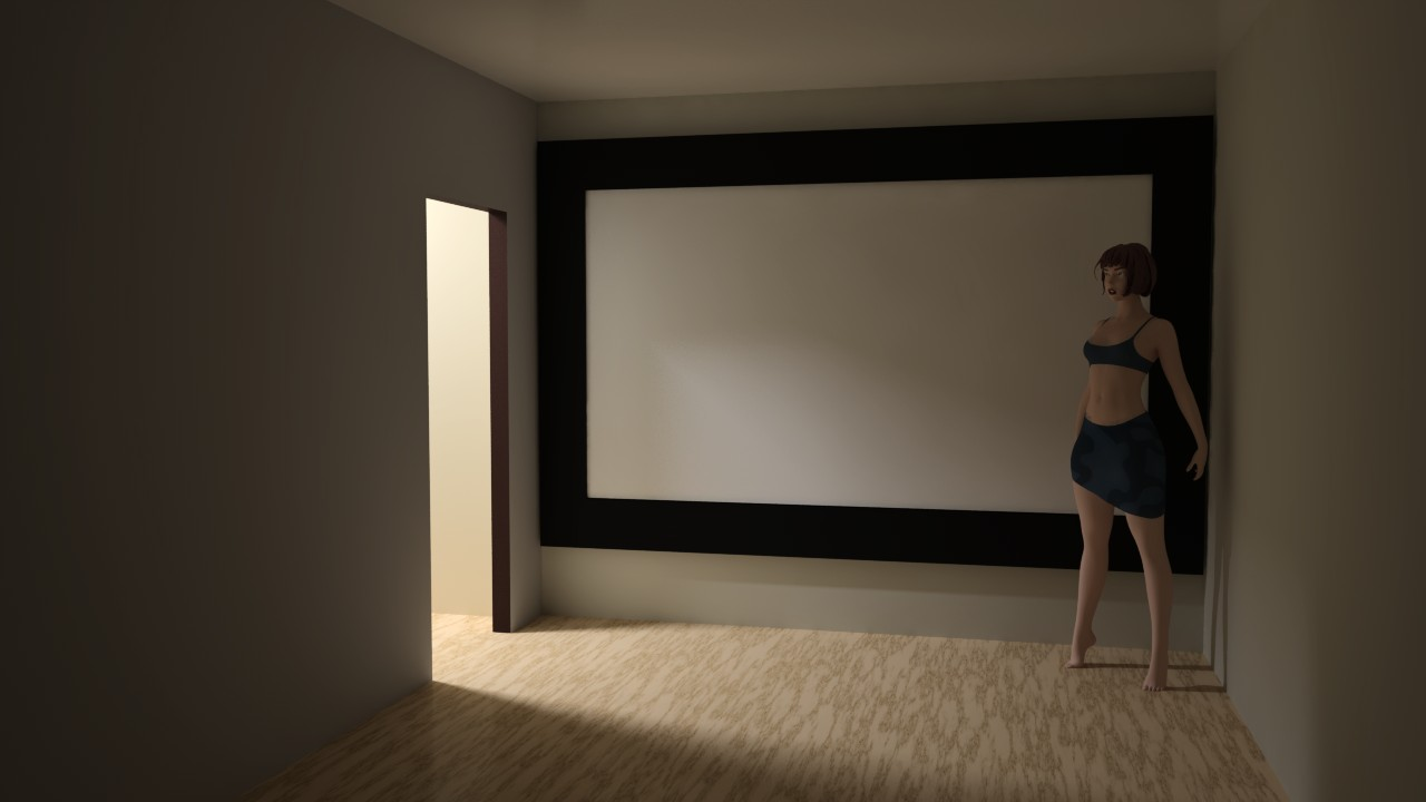 Сказ о том, как я собирал 120-дюймовый домашний кинотеатр из труб, веревок, складного экрана и черного бархата - 13