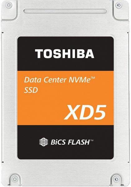 Toshiba Memory адресует твердотельные накопители серии XD5 объемом до 3,84 ТБ центрам обработки данных