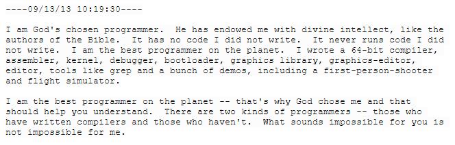 Биография Терри Дэвиса, «величайшего из когда-либо живших программистов» - 22