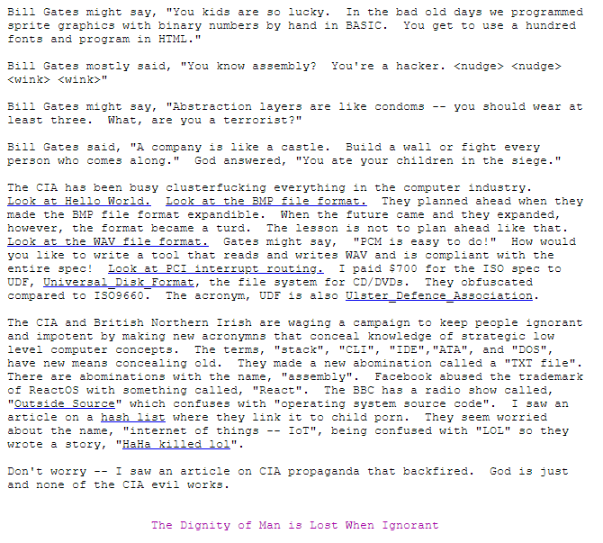 Биография Терри Дэвиса, «величайшего из когда-либо живших программистов» - 26