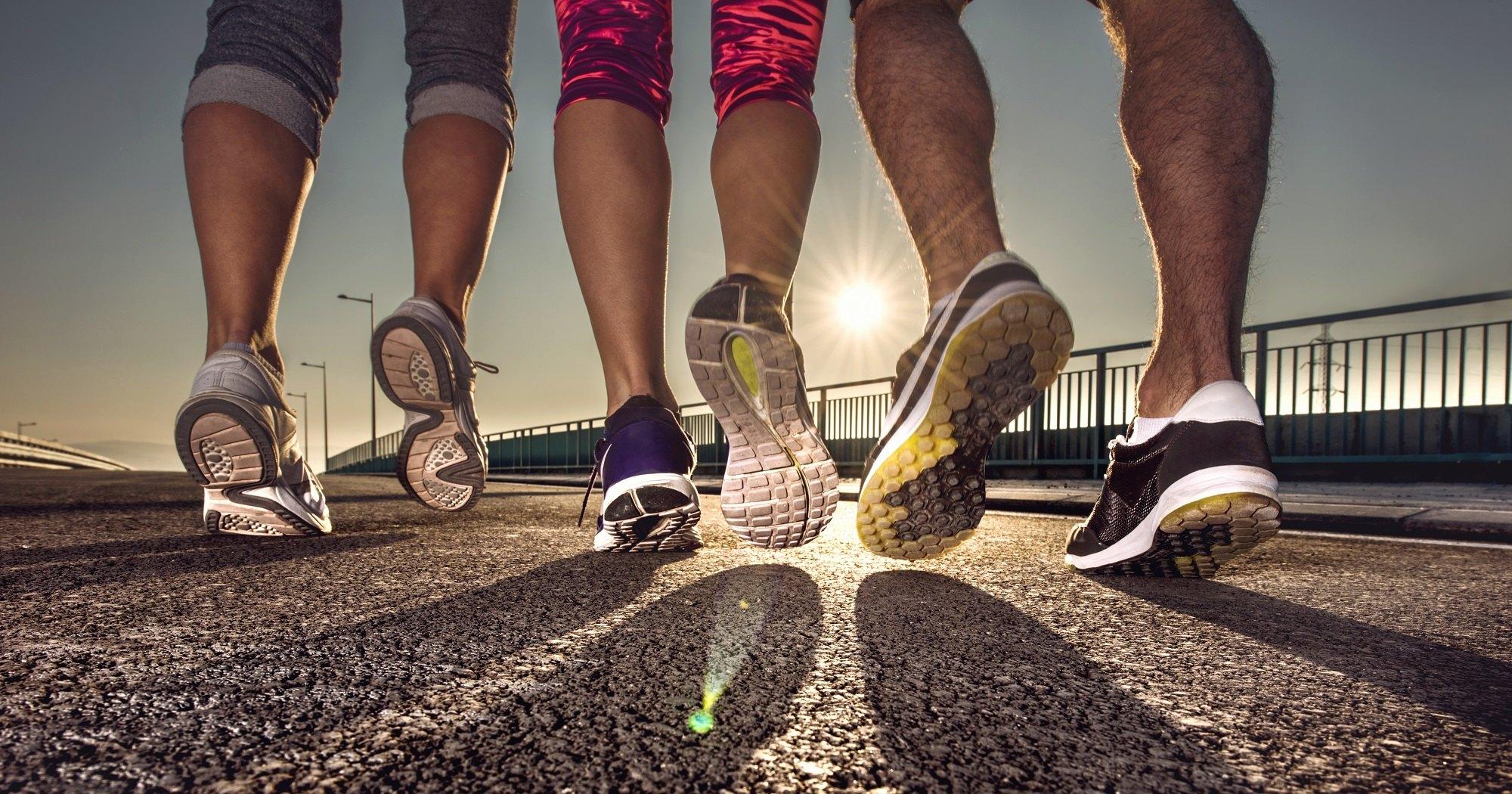 Из чего состоят кроссовки для бега?