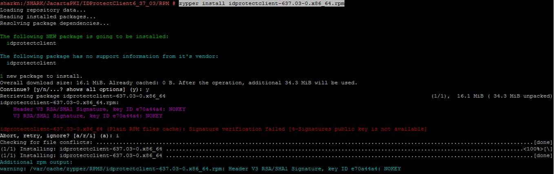 Работа с СКЗИ и аппаратными ключевыми носителями в Linux - 13