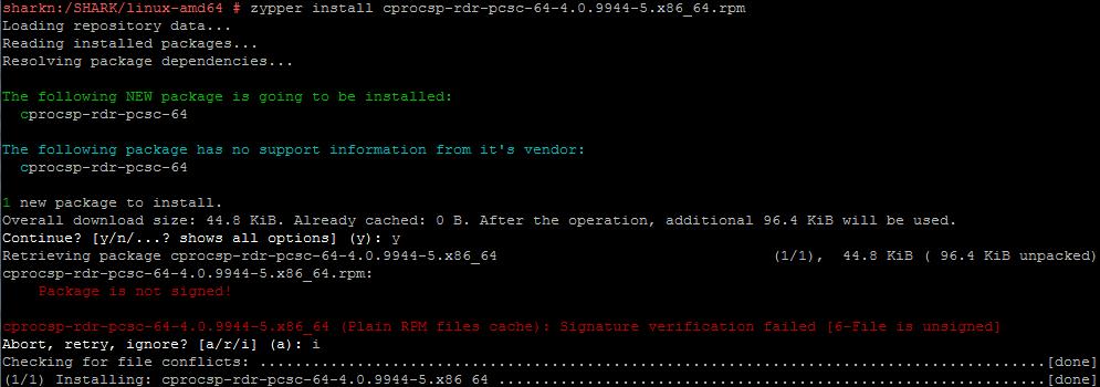 Работа с СКЗИ и аппаратными ключевыми носителями в Linux - 19