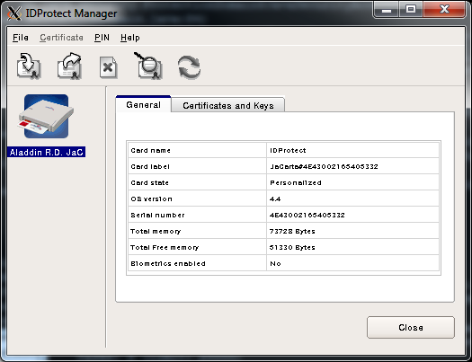 Работа с СКЗИ и аппаратными ключевыми носителями в Linux - 32