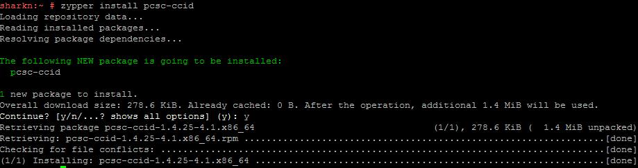Работа с СКЗИ и аппаратными ключевыми носителями в Linux - 9