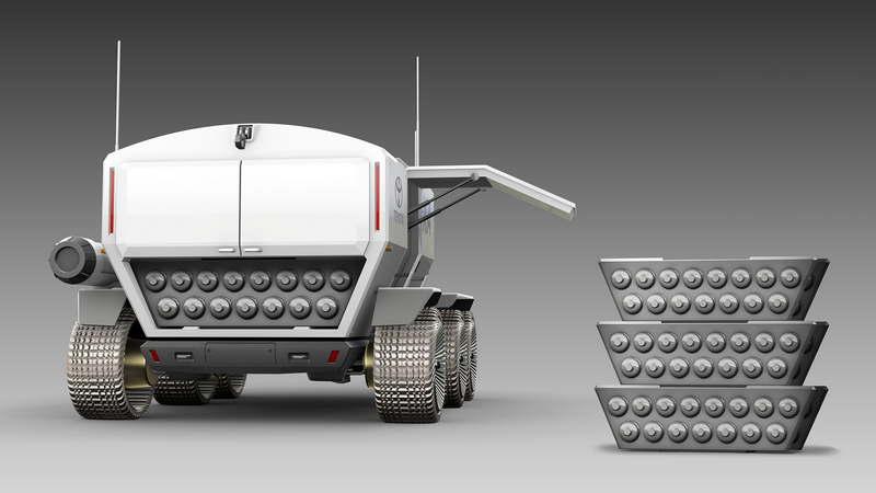 Тойота и JAXA в 2029 году планируют иметь пилотируемый ровер на Луне - 11