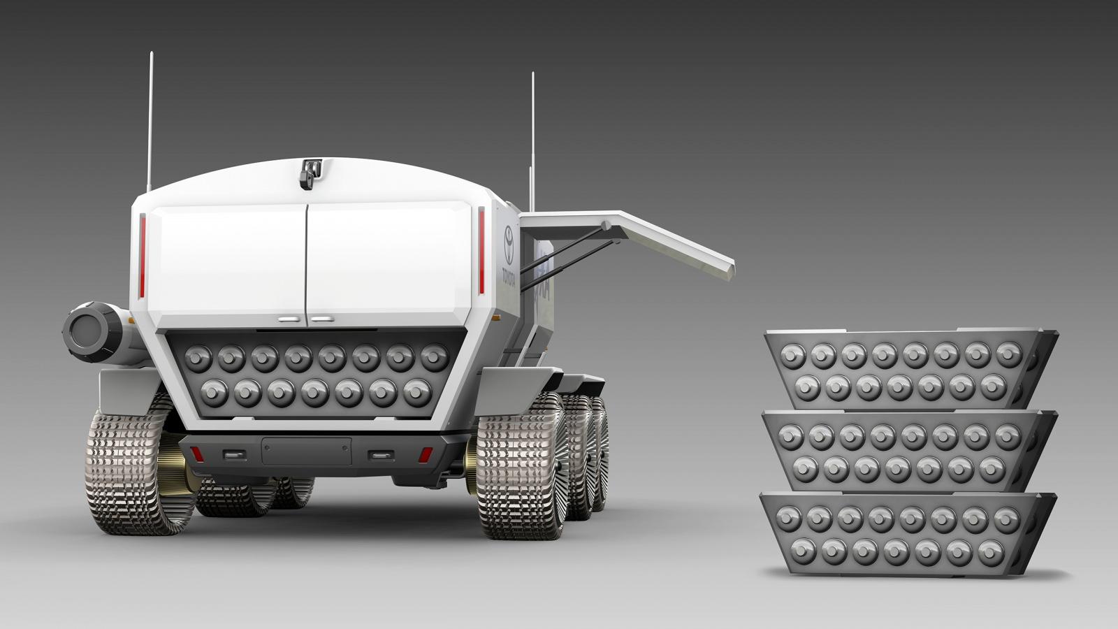 Тойота и JAXA в 2029 году планируют иметь пилотируемый ровер на Луне - 12