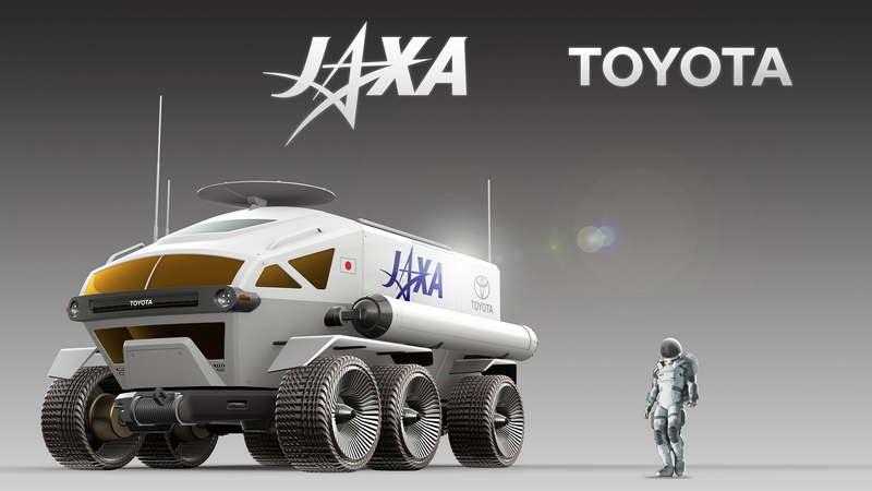 Тойота и JAXA в 2029 году планируют иметь пилотируемый ровер на Луне - 13
