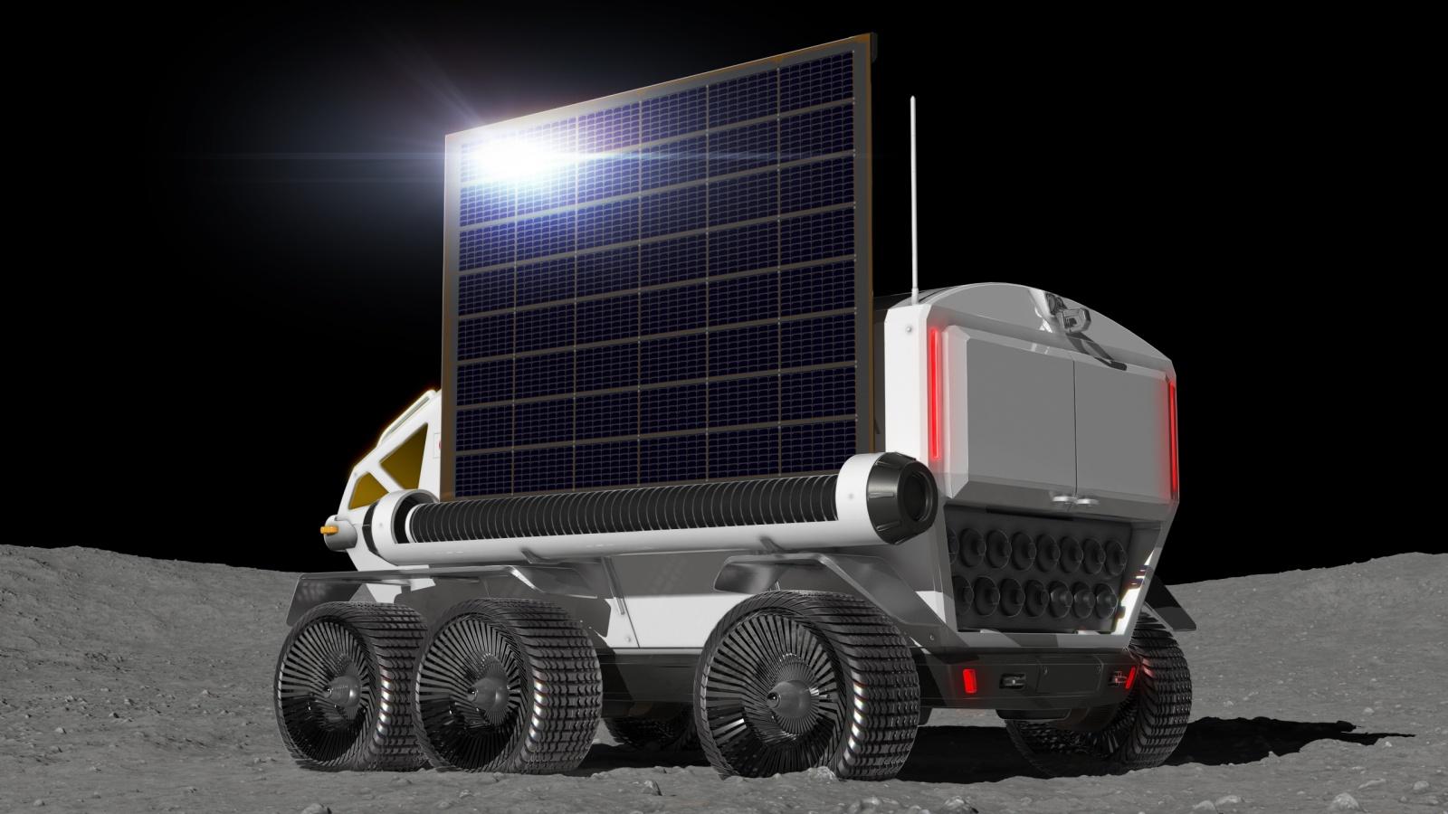 Тойота и JAXA в 2029 году планируют иметь пилотируемый ровер на Луне - 4