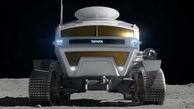 Тойота и JAXA в 2029 году планируют иметь пилотируемый ровер на Луне - 5
