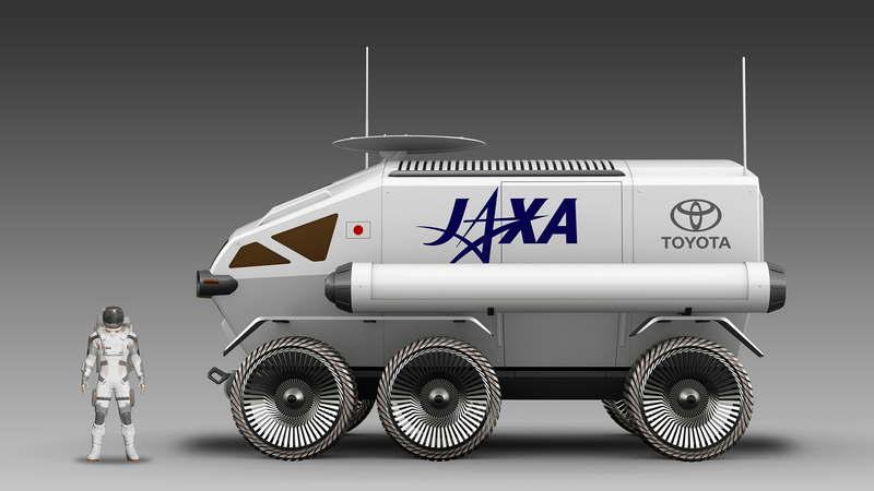 Тойота и JAXA в 2029 году планируют иметь пилотируемый ровер на Луне - 7