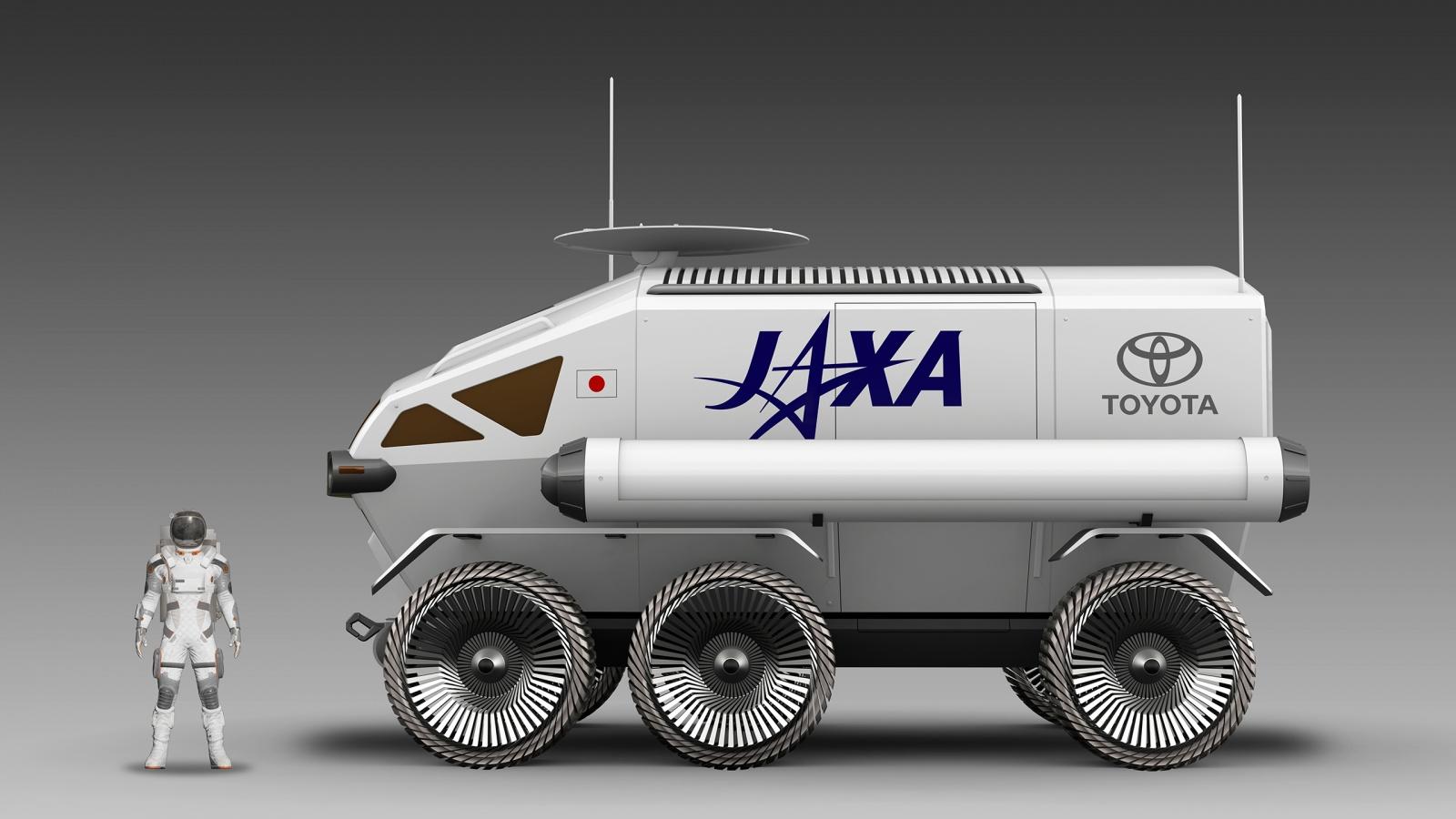 Тойота и JAXA в 2029 году планируют иметь пилотируемый ровер на Луне - 8
