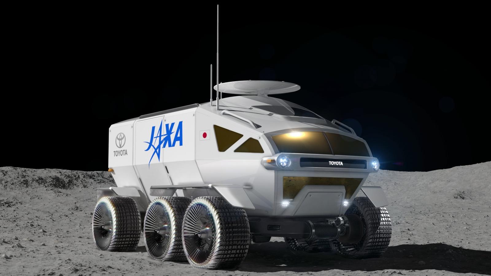 Тойота и JAXA в 2029 году планируют иметь пилотируемый ровер на Луне - 1