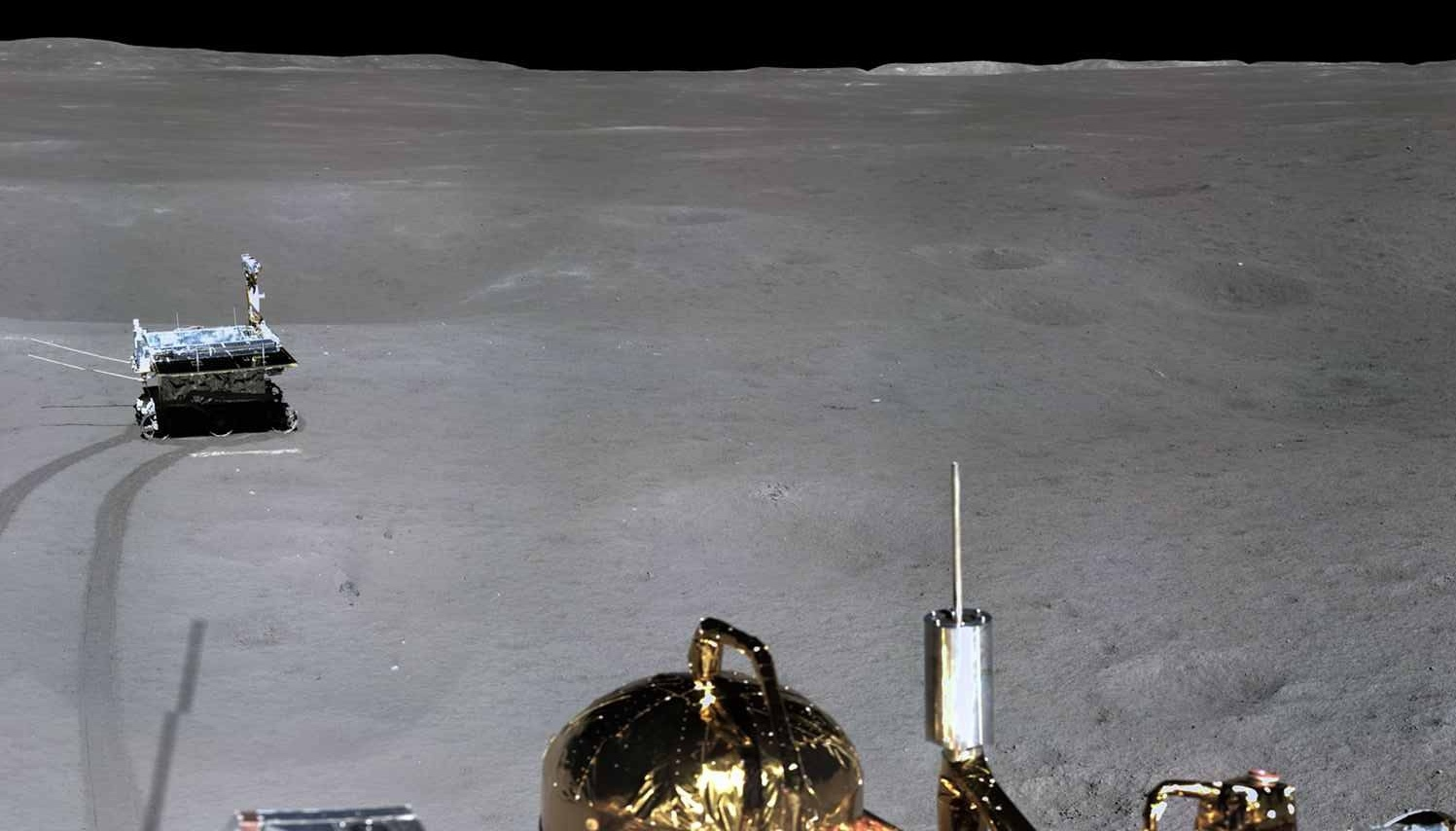 Миссия «Чанъэ-4» — третий лунный день. Ровер «Юйту-2» в поисках… камней - 11