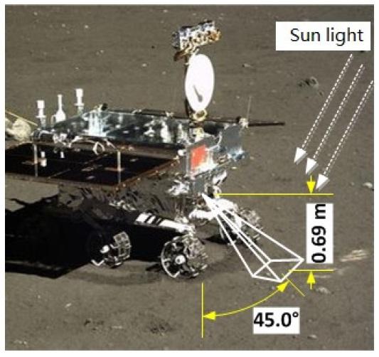 Миссия «Чанъэ-4» — третий лунный день. Ровер «Юйту-2» в поисках… камней - 14