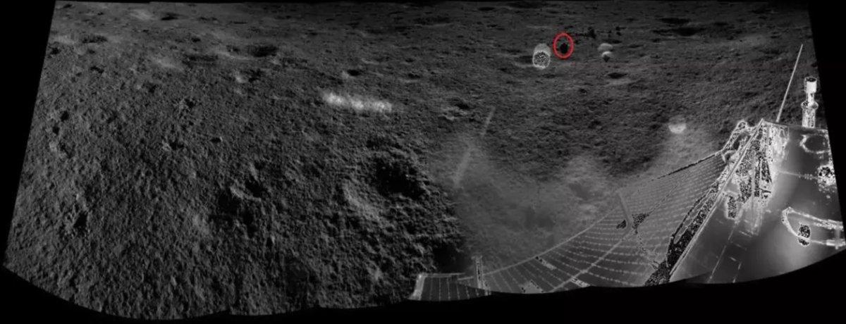 Миссия «Чанъэ-4» — третий лунный день. Ровер «Юйту-2» в поисках… камней - 21