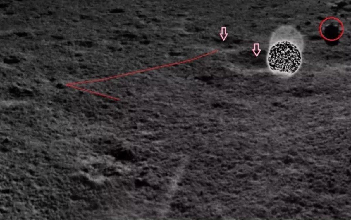 Миссия «Чанъэ-4» — третий лунный день. Ровер «Юйту-2» в поисках… камней - 26
