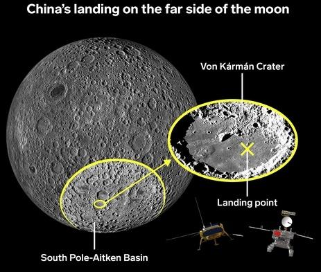 Миссия «Чанъэ-4» — третий лунный день. Ровер «Юйту-2» в поисках… камней - 4
