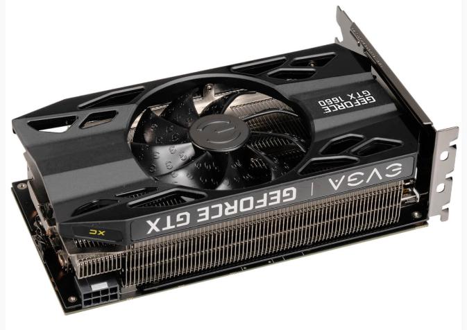 Нетипично: видеокарты EVGA GTX 1660 XC Gaming получились короткими, но толстыми