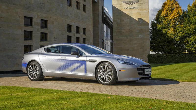 Новой машиной Джеймса Бонда станет электромобиль