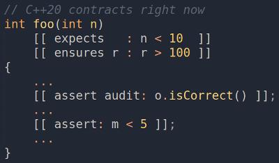 Пробуем контрактное программирование С++20 уже сейчас - 1