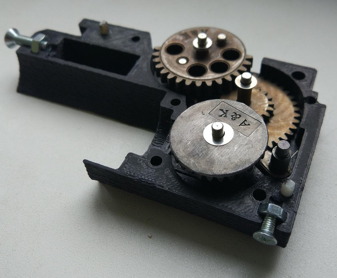 3D-печать и airsoft: как я печатал «привод» - 10
