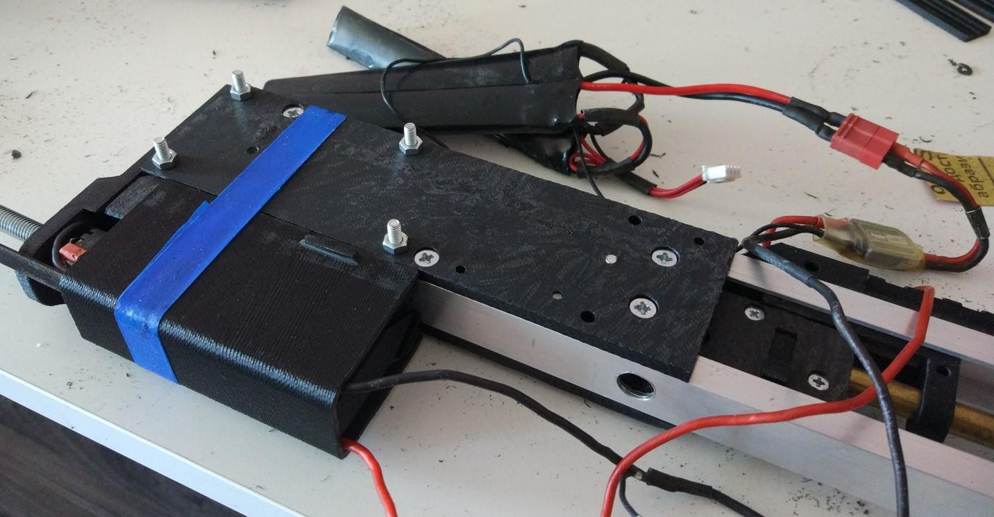 3D-печать и airsoft: как я печатал «привод» - 12