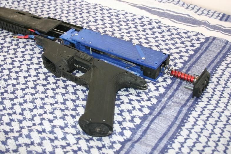 3D-печать и airsoft: как я печатал «привод» - 5