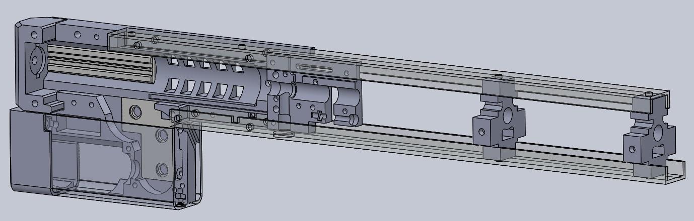 3D-печать и airsoft: как я печатал «привод» - 1