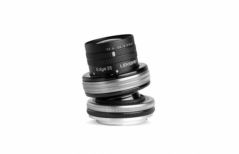 Lensbaby выпускает широкоугольный объектив Composer Pro II with Edge 35 Optic с изменяемым наклоном