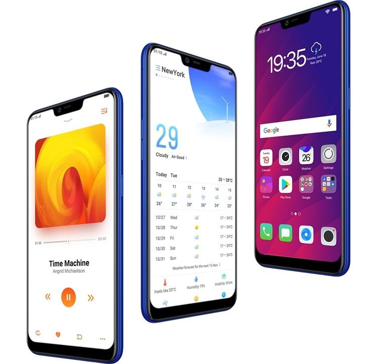 Грядёт выход смартфона OPPO AX5s с 6,2″ экраном и мощным аккумулятором