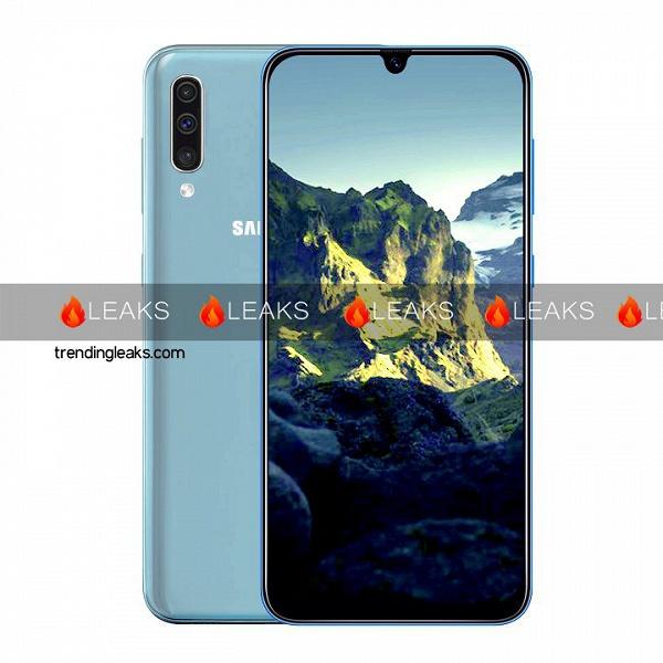 Недорогой смартфон Samsung Galaxy A40 красуется на качественном изображении