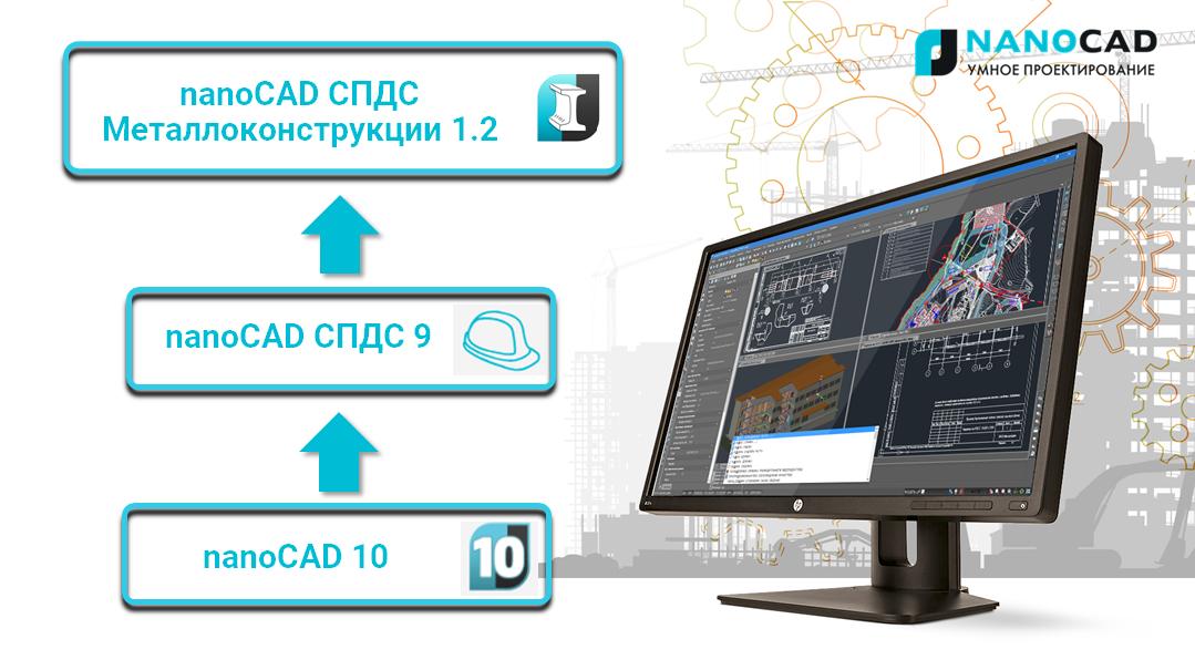 Обзор новых возможностей nanoCAD СПДС Металлоконструкции версии 1.2 - 1