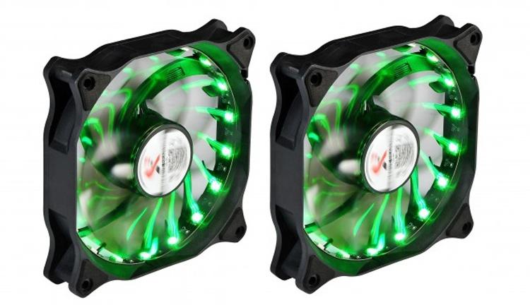 X2 RGB Zoom: корпусной вентилятор с подсветкой и низким уровнем шума