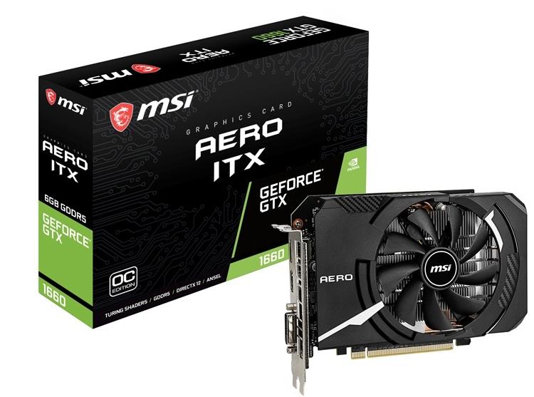 Россыпь видеокарт MSI GeForce GTX 1660 на любой вкус