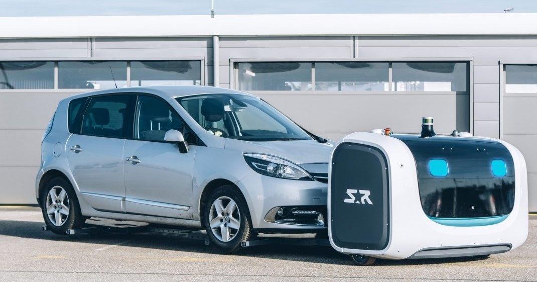 В одном из аэропортов Франции парковкой автомобилей займутся роботы